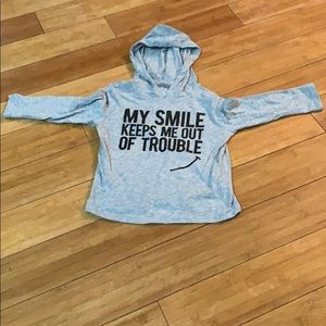 My Smile Keeps Me Out Of Trouble Graphic Tee